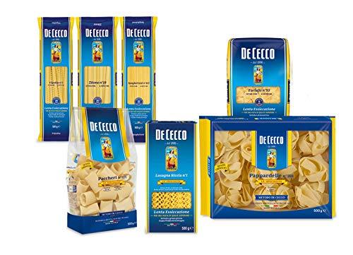 Pasta De Cecco 100% Italienisch special paket 7x 500g Nudeln