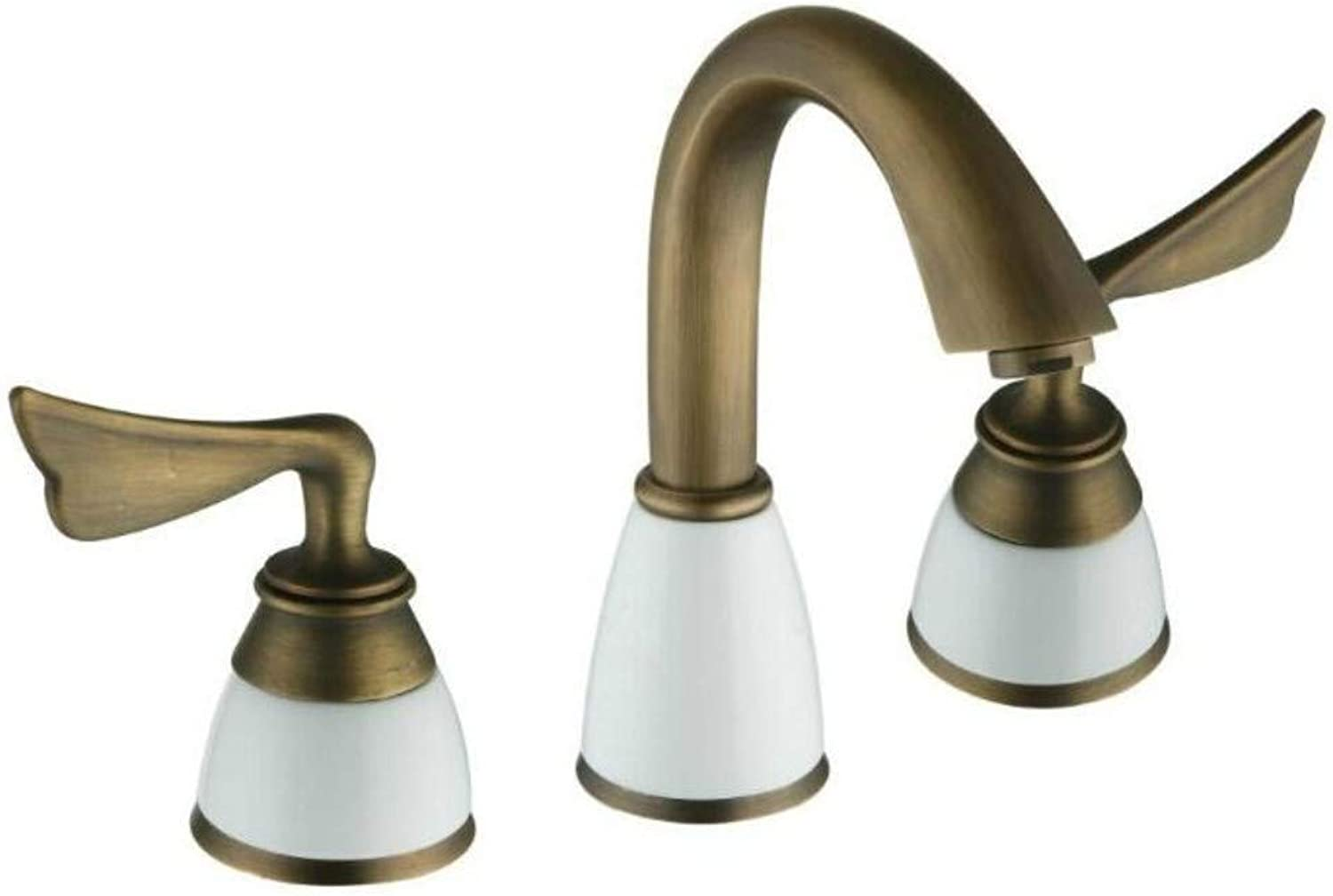 LYBSD Bathroom Sink Taps Hot And Cold Basin Faucet Bathroom Fashion Sink Kitchen Single Faucet