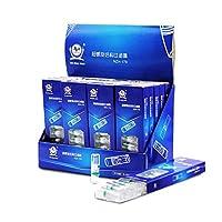 タバコ入れ 200ピース/ロットスパイラル構造タバコフィルターシガーシガレットタバコ喫煙パイプアクセサリー使い捨てタバコホルダーNZH178