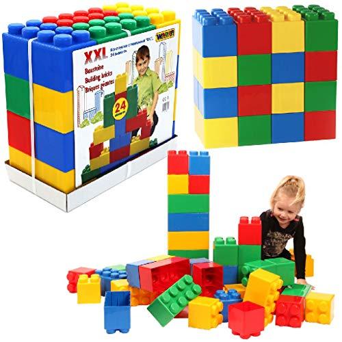 Wader Quality Toys - Vehículo de Juguete de 24 Piezas (Wader PW37503)