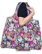 Ranoki エコバッグ 折りたたみ 買い物袋 防水素材 ECO 大容量