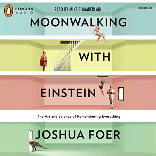 『Moonwalking with Einstein』のカバーアート