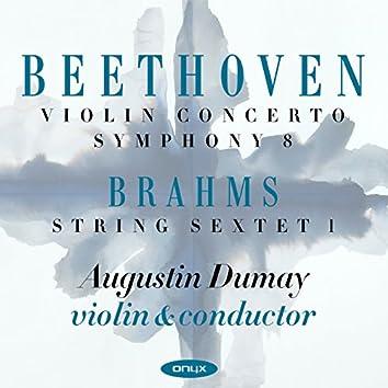 Beethoven: Violin Concerto, Symphony No.8 & Brahms: Sextet