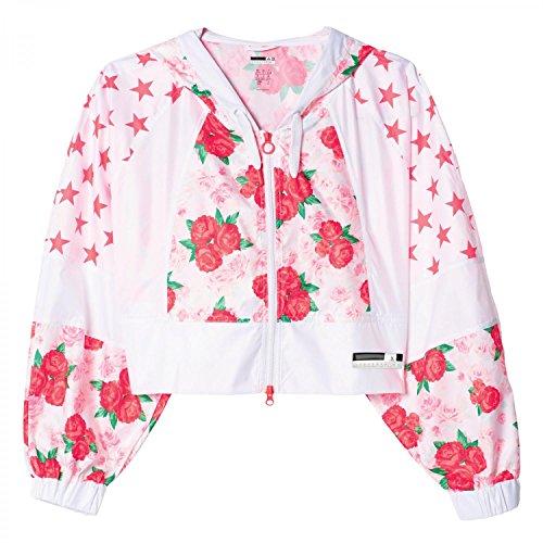 adidas Damen Sc Rose Jacket Jacken, Weiß, L