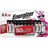Energizer AA Batteries, Max Alkaline, 16 Count