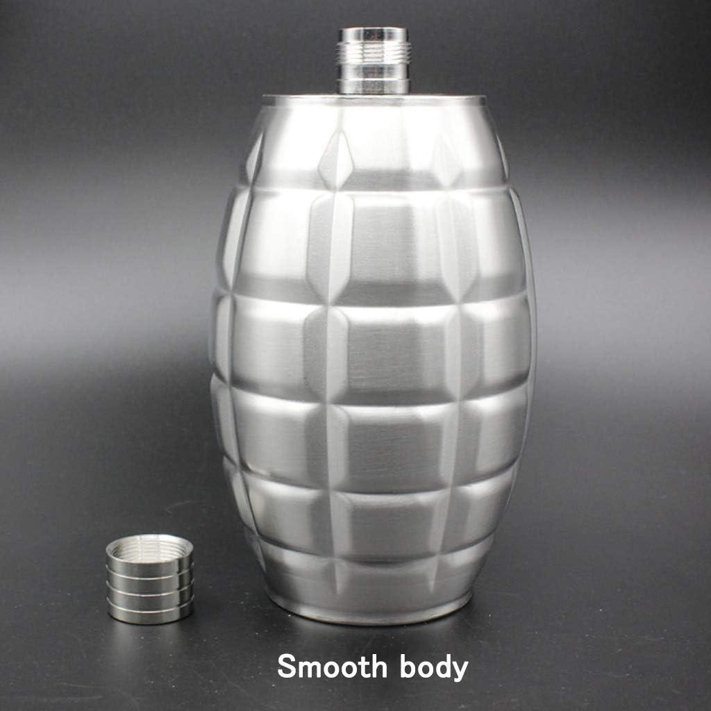 Xu-flask 64 oz Forma de la Granada Petaca, Veterano Vodka ...