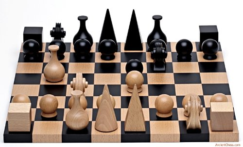 Original Design Wood Chess Set By Man...