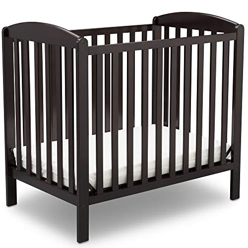 Delta Children Emery Mini Convertible Baby Crib with...
