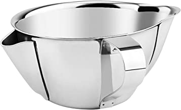 OUNONA Oil Fat Separator Bowl with Handle Grease Oiler Filter Strainer