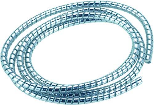 AMAS The Best Cubrecable en espiral cromado para cables de 150 cm...
