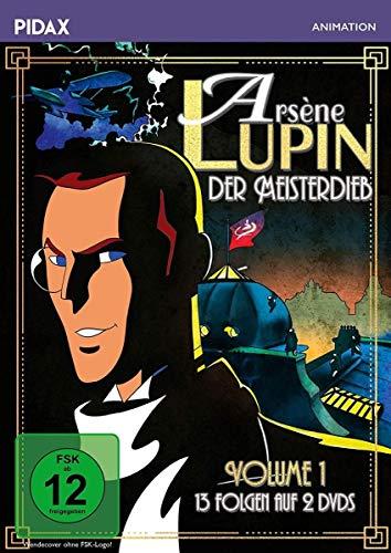 Arsène Lupin, der Meisterdieb, Vol. 1 / Die ersten 13 Folgen der Erfolgsserie nach der Romanvorlage von Maurice Leblanc (Pidax Animation) [2 DVDs]