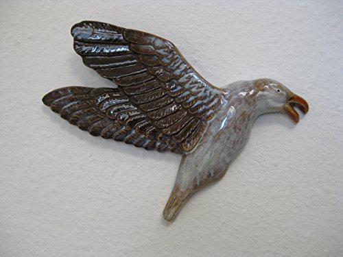 Garten Deko Möwe Wanddeko Gartendeko Wand Vogel Porzellan