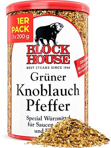 Block House Grüner Knoblauch Pfeffer Gewürzmischung 200g