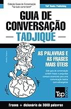 Guia de Conversação Português-Tadjique e vocabulário temático 3000 palavras
