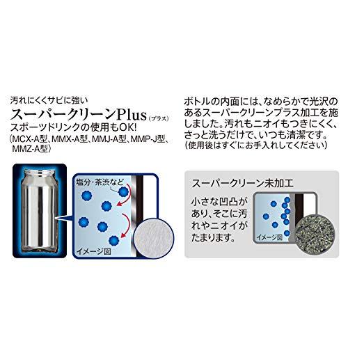 『タイガー 水筒 500ml サハラ マグ ステンレスボトル ワンタッチ 軽量 スカイブルー MCX-A501AK』の7枚目の画像