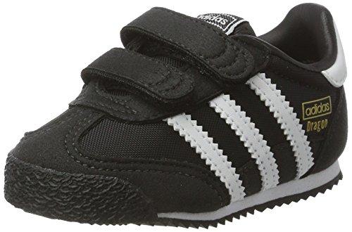 adidas Unisex Baby Dragon OG Sneaker, Schwarz (Core Black/FTWR White/core Black), 19 EU