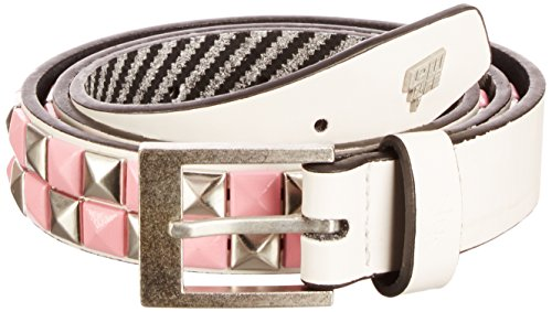 Lowlife of London Dub Ceinture, Blanc, 52 (Taille fabricant:Large) Mixte