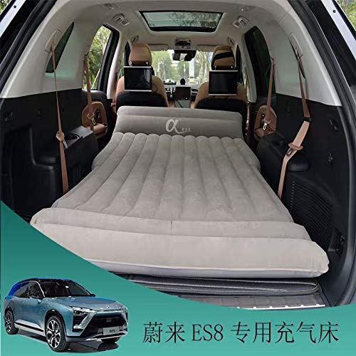WJM Car Air Bed for Tesla Model S Model X 5 Seats Universal SUV MPV Inflatable Mattress for Camping Outdoor Home