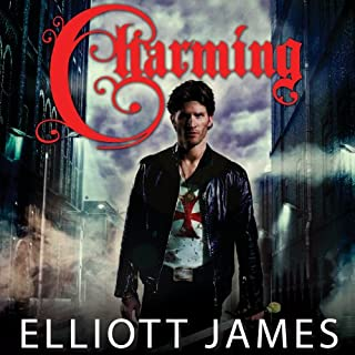 Charming audiobook cover art