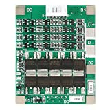 Akozon 4Series 50A 3.7V Ternario Tarjeta de Protección para Batería de Li-Ion de Litio, Placa de...