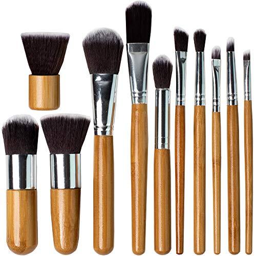 Professionelles Makeup Pinselset Schminkpinsel Set - Beauty Bon Kosmetikpinsel Set Make Up Brushes...