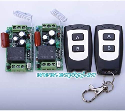 AC220V 1CH 10A Remote New item Control Light Radio Max 60% OFF Switch 2 Output Relay