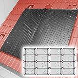 SAXONICA - Riscaldamento a energia Solare per Piscine, riscaldatore HelioPool®, 4 x 4 Pezzi, in Formato Orizzontale, 19,2 mq