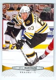 Brad Marchand hockey card (Boston Bruins Stanley Cup) 2011 Upper Deck #189