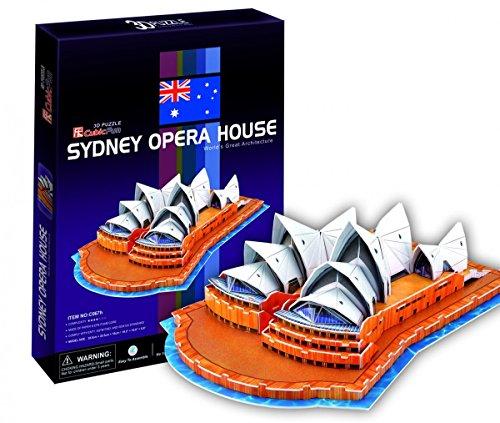 3D Puzzle - Sydney Opera House (Schwierigkeit : 4/8)