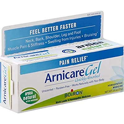 Boiron Arnicare Gel 2.6 Ounce Topical Pain Relief Gel - 4 Pack