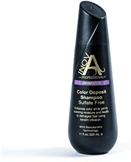 Inova Professional Color Revive & Enhance - Smooth Protection Sulfate-Free Shampoo - Color Deposit Shimmer, 11 Fluid Ounce
