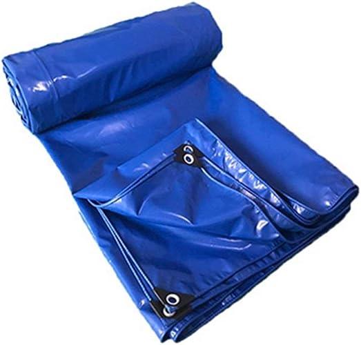 Yetta Parasol imperméable de PVC de Garage Bleu de bache Lourde imperméable (Taille   5  6m)