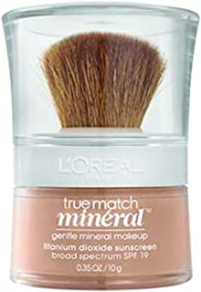 L'Oreal Paris True Match Mineral Loose Powder Foundation, Natural Buff, 0.35oz