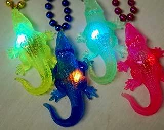 Toomey's Mardi Gras Light Up Alligator Bead - Assorted