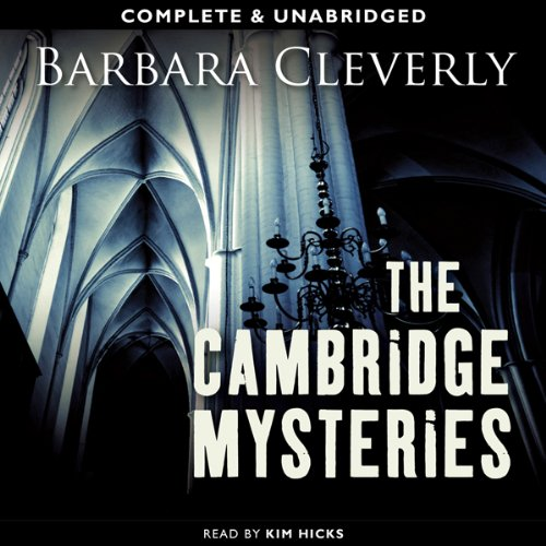 The Cambridge Mysteries audiobook cover art
