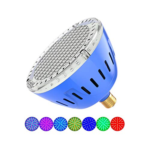 LAMPAOUS RGB Multicolor LED Pool Light 120V - 35W