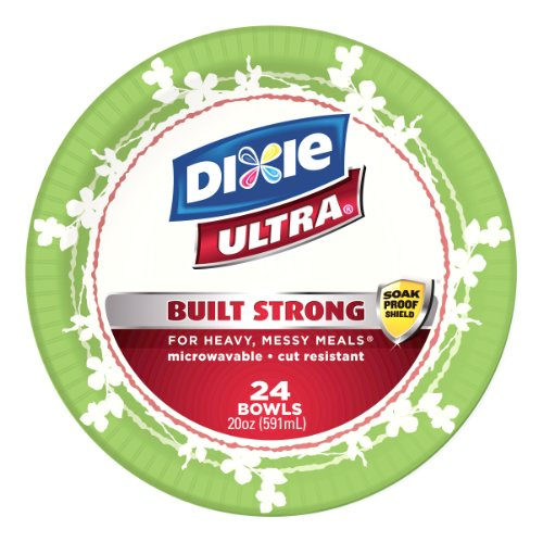 Dixie Ultra Bowl, 24-Count (Pack of 2)
