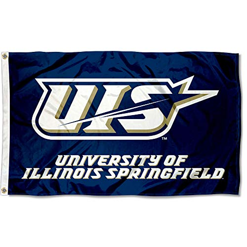 College Flags & Banners Co. Illinois Springfield Prairie Stars Flag