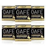 VIAGGIO ESPRESSO - 60 Cápsulas de Café Compatibles con Máquinas Nespresso - VANIGLIA