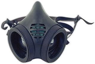 Moldex 8002 Half Mask Respirator Facepiece, Medium, Black (Pack of 12)