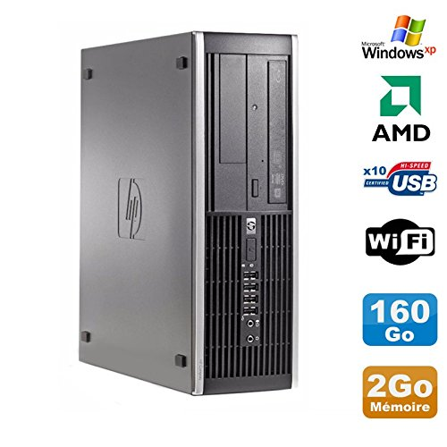 HP PC Compaq 6005 Pro SFF AMD 3GHz 2Go DDR3 160 GB SATA Grabador WiFi Windows XP