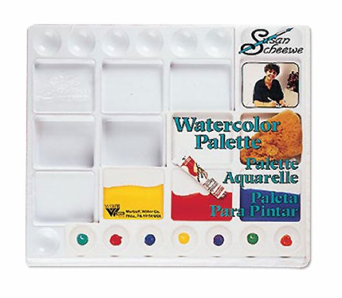 Susan Scheewe Watercolor Palette With Lid By Martin F Weber