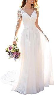 VEMOW Vestido Formal Manga Larga//Corta para Mujer Vintage Encaje Floral Boda Dama De Honor C/óctel Fiesta De Elegante Noche Midi//Maxi Vestidos para Fiesta Discoteca Moda Baile