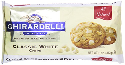 Ghirardelli Baking Chips, Classic White Chocolate, 11 oz