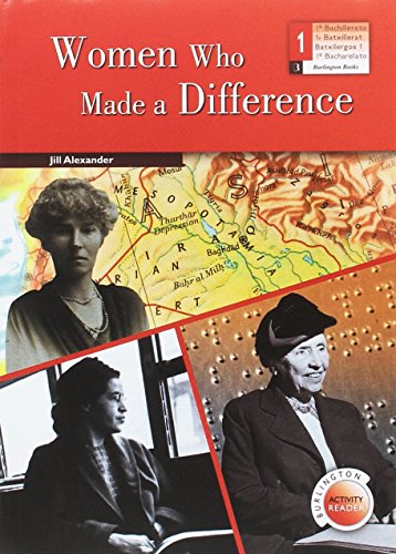 Women Who Made A Difference 1 Bachillerato