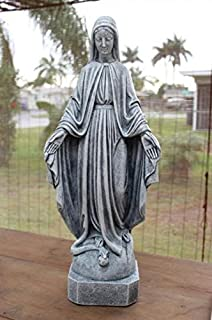 Concrete Virgin Mary Religious Statue Bless Mother Religion Catholic Sculpture Indoor Outdoor Garden Painted SALE