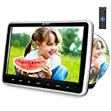 PUMPKIN 10.1 Inch Car DVD Player for Kids with Headrest Mount, Support Region Free, Sync Screen, USB...