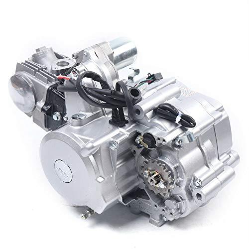 125CC 4-Stroke Engine Motor Semi-Auto 3 Speed Engine Motor Reverse w/Wiring Harness for Go Kart ATV Quad Bike Buggy Pit ATV ATC70 90 CDI
