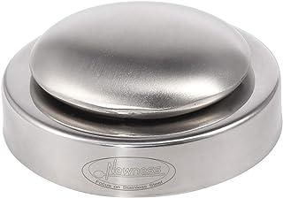 Newness Jabon de Acero Inoxidable con a Bandeja Baja, jabón del Acero Inoxidable para la Barra de Cocina Que Elimina Olor