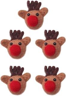 KESYOO 5pcs Christmas Brooch Pin Funny Christmas Breastpin for Women Men Holiday Xmas Gift Sewing Clothing Dresses Decor